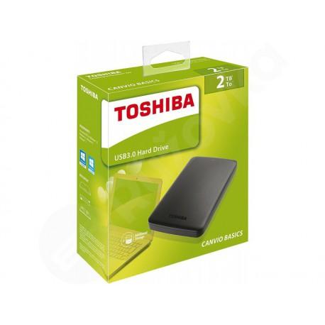 2,5'' Externí disk 2TB Toshiba Canvio Basics USB 3.0 Black HDTB320EK3CA