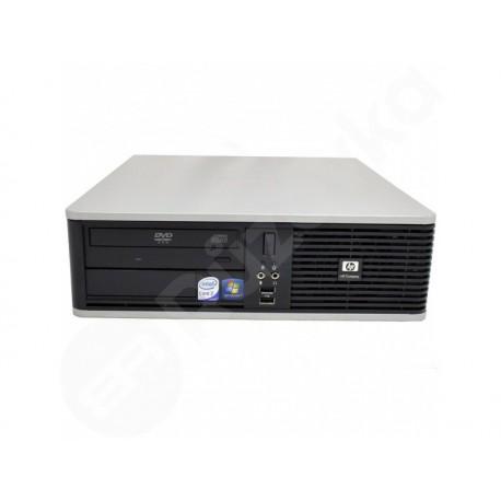 HP Compaq dc5800 Elite SFF Pentium E7300 2,66GHz 4GB 64GB SSD DVD-ROM W7