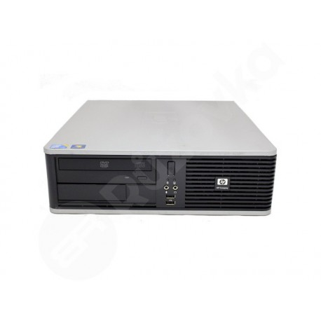 HP Compaq dc7900 SFF Core 2 Duo E7500 2,93GHz 4GB 64GB SSD DVD-RW W7