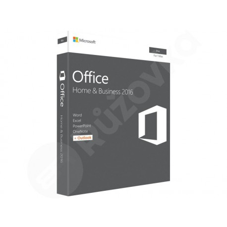 Microsoft Office 2016 Home & Business (pro podnikatele) MAC
