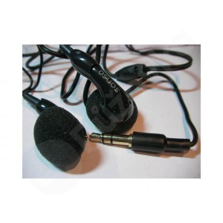 Sansa sluchátka Černá/Bílá (do uší) 3,5mm jack