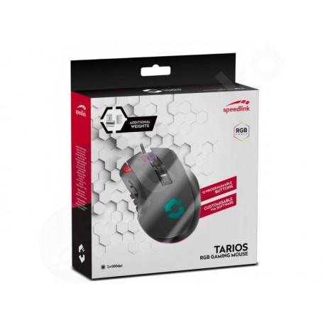 Speed Link Tarios herní myš v černém provedení