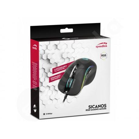 Speed Link Sicanos herní myš v černém provedení