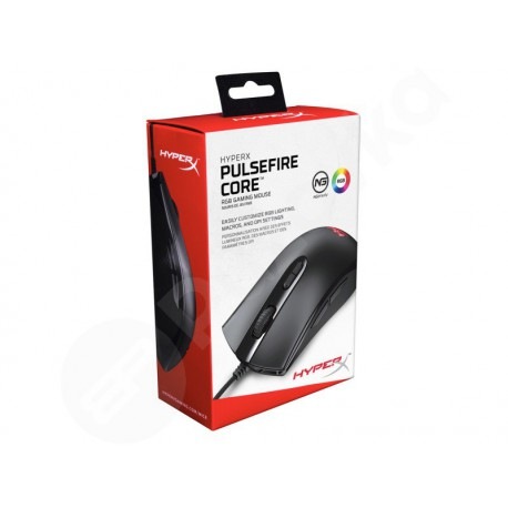 Kingston HyperX Pulsefire Core herní myš v černém provedení (HX-MC004B)