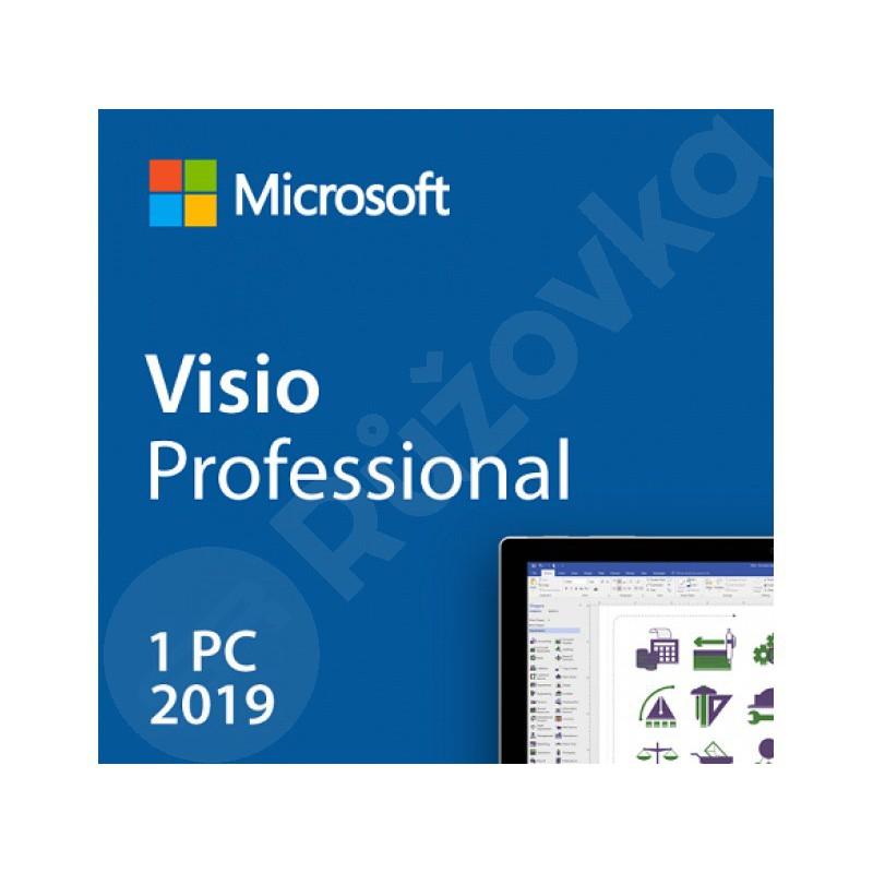 Microsoft Visio Professional 2019 (PC)