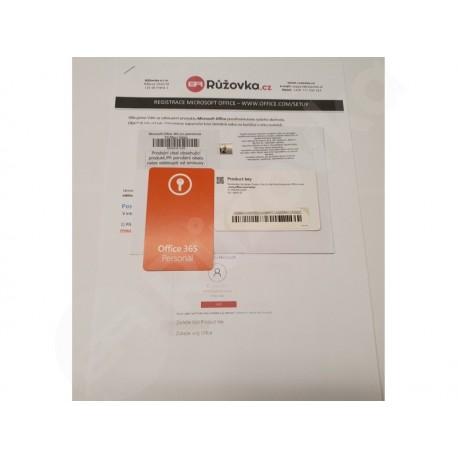 Microsoft Office 365 pro jednotlivce - PC/Mac+Tablet