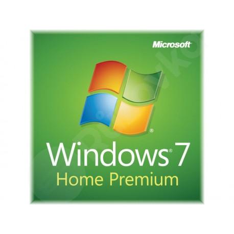 Microsoft Windows 7 Home Premium OEM CZ 32bit / 64bit
