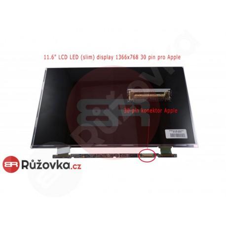 11.6'' LCD LED (slim) display 1366x768 30 pin pro Apple B116XW05 V.0
