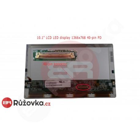 10.1'' LCD LED display 1366x768 40-pin PD