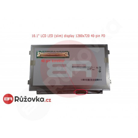 10.1'' LCD LED (slim) display 1280x720 40-pin PD