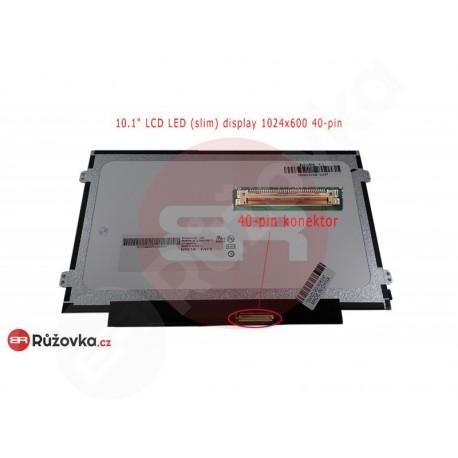 10.1'' LCD LED (slim) display 1024x600 40-pin PD lesklý