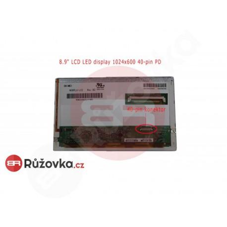 8.9'' LCD LED display 1024x600 40-pin PD