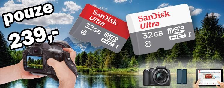 Sandisk Ultra 32GB za 239,-