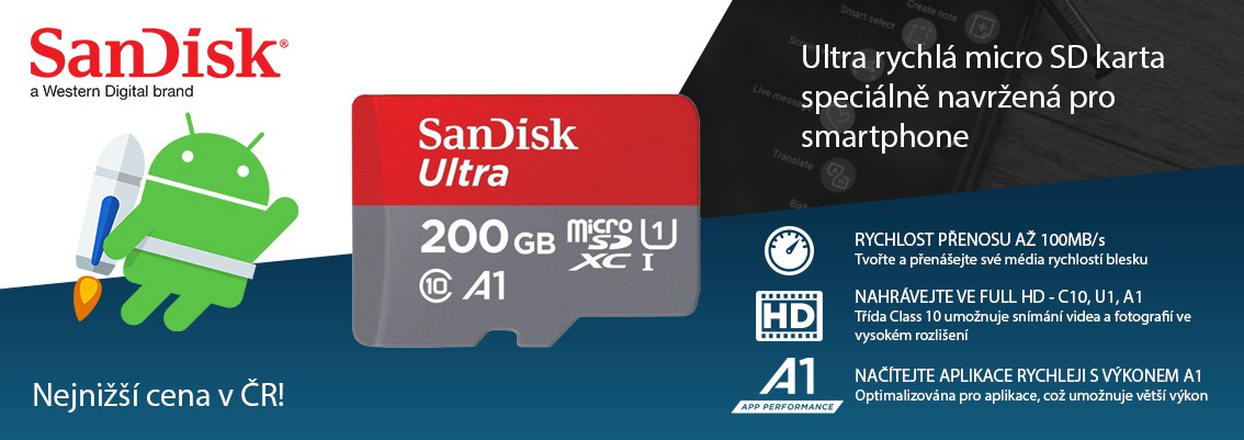 200GB Sandisk Ultra A1